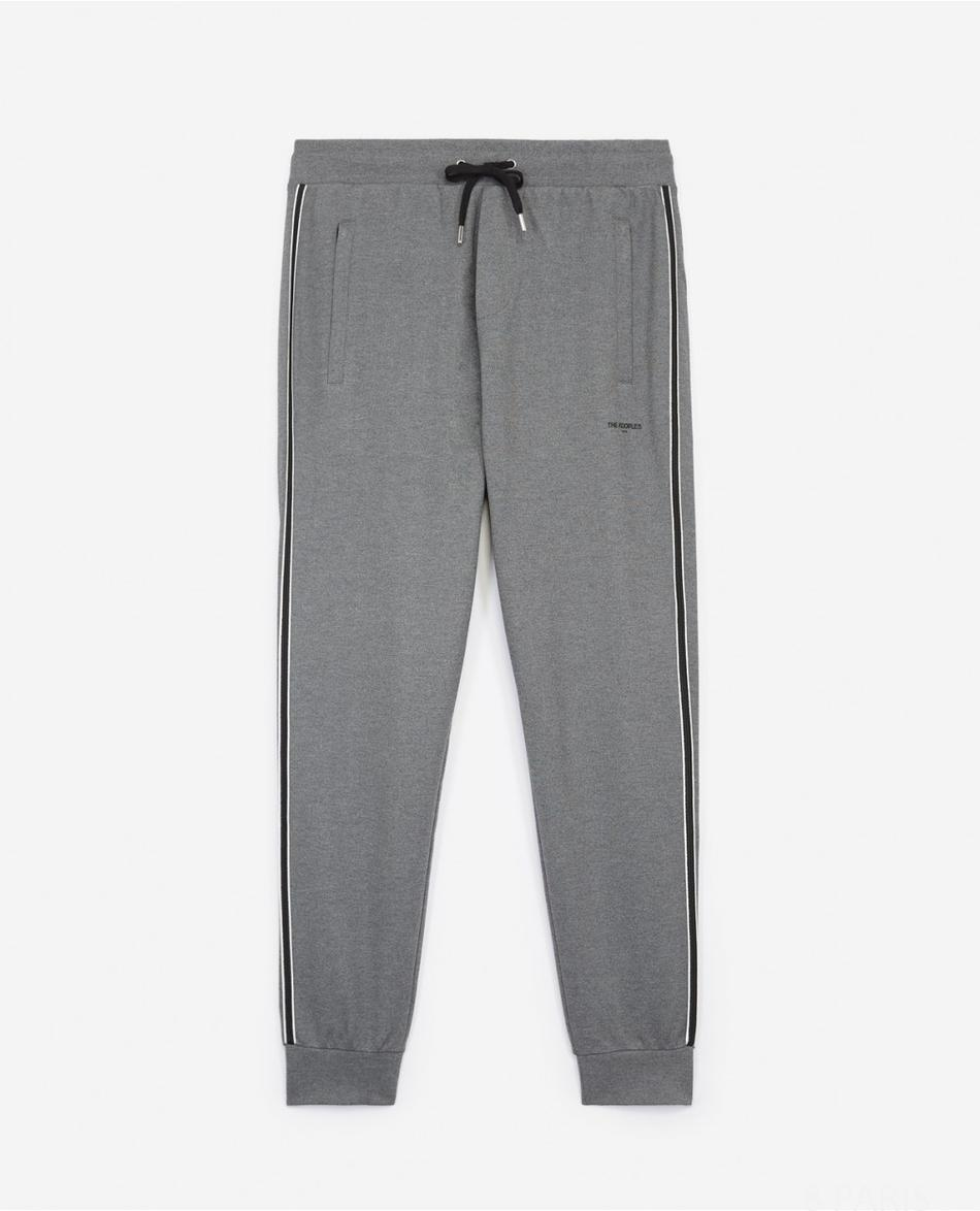 Jogging gris coupe slim