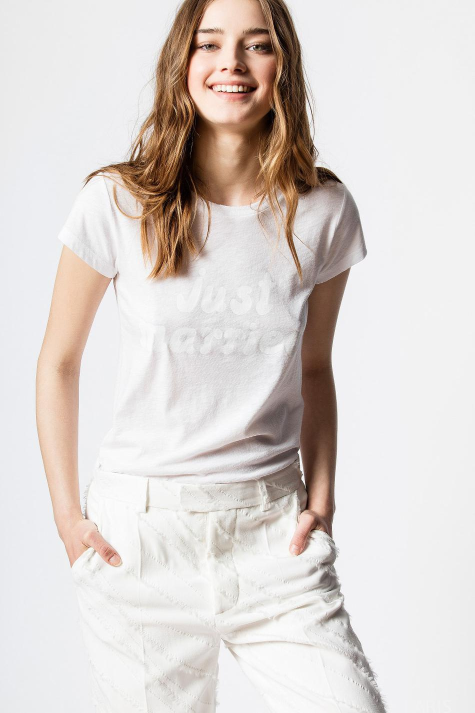 T-shirt Skinny Just Married